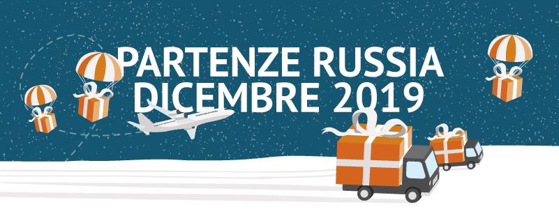 Partenze Russia Dicembre 2019